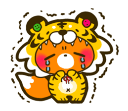 Fox to disguise sticker #143178