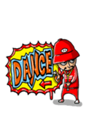 danceman sticker #143287