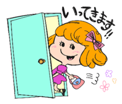 Feelings of a young girl sticker #143360