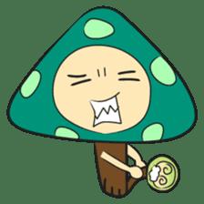 Disdain mushrooms sticker #143869