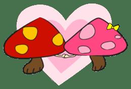 Disdain mushrooms sticker #143873