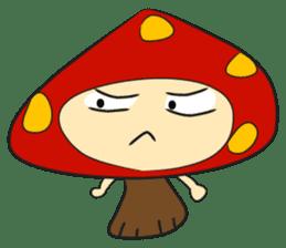 Disdain mushrooms sticker #143884