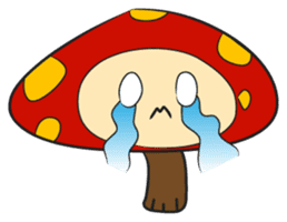 Disdain mushrooms sticker #143886