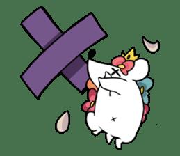 Flower Hedgehog's Stamp sticker #144693