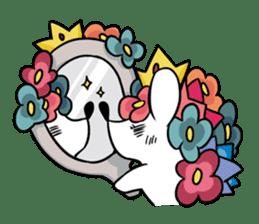 Flower Hedgehog's Stamp sticker #144698