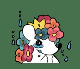 Flower Hedgehog's Stamp sticker #144701