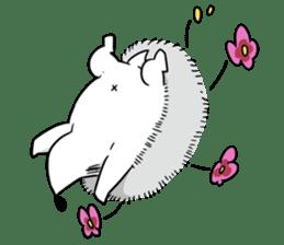 Flower Hedgehog's Stamp sticker #144711