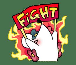 Flower Hedgehog's Stamp sticker #144723