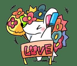 Flower Hedgehog's Stamp sticker #144726
