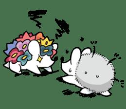 Flower Hedgehog's Stamp sticker #144727