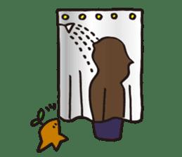 Coquettish Kokesshi sticker #144961