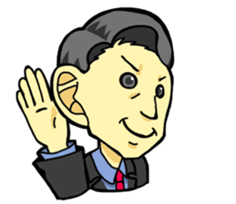 BUSINESS PERSONS GREETINGS sticker #145177
