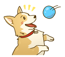 MAIRO the Corgi sticker #145426