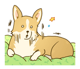 MAIRO the Corgi sticker #145435