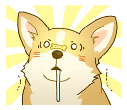 MAIRO the Corgi sticker #145441