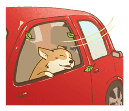 MAIRO the Corgi sticker #145451