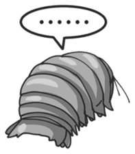 Giant Isopod sticker #146213