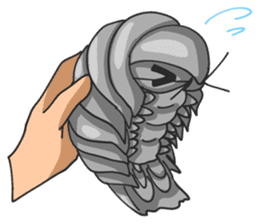 Giant Isopod sticker #146214