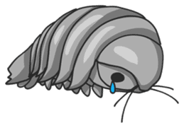 Giant Isopod sticker #146222