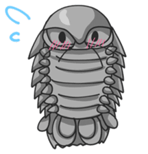 Giant Isopod sticker #146225