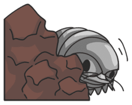 Giant Isopod sticker #146226