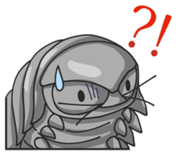 Giant Isopod sticker #146233