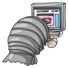 Giant Isopod sticker #146237