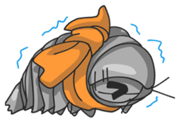 Giant Isopod sticker #146248