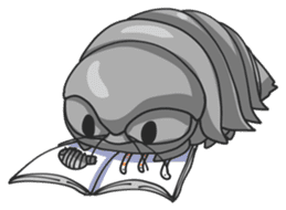 Giant Isopod sticker #146251