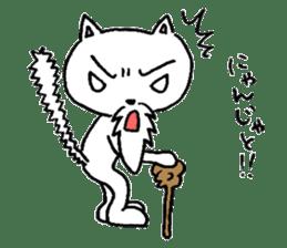 Cat Hermit sticker #146413