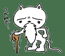 Cat Hermit sticker #146414