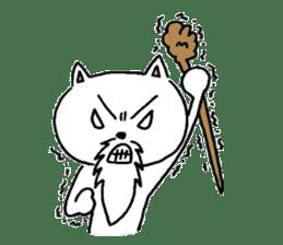 Cat Hermit sticker #146420