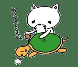 Cat Hermit sticker #146429