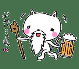 Cat Hermit sticker #146430