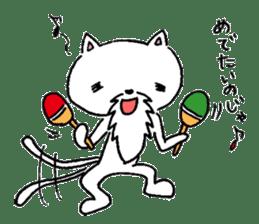 Cat Hermit sticker #146431