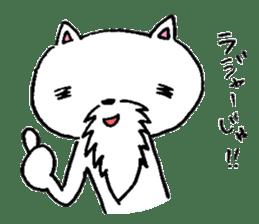 Cat Hermit sticker #146432