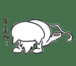 Cat Hermit sticker #146434