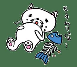 Cat Hermit sticker #146444