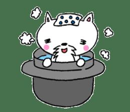 Cat Hermit sticker #146445