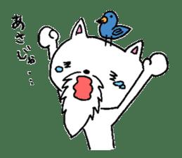 Cat Hermit sticker #146447
