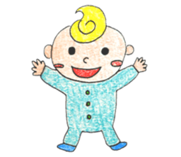 Life with baby sticker #147001