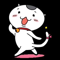 """Japanese Onigiri's Cat """"NUCO"""""""
