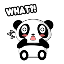 Panko Cute Little Panda sticker #147525