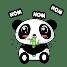 Panko Cute Little Panda sticker #147527