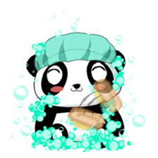 Panko Cute Little Panda sticker #147530