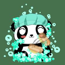 Panko Cute Little Panda sticker #147530