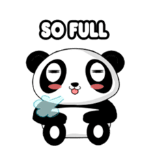 Panko Cute Little Panda sticker #147532