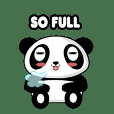 Panko Cute Little Panda sticker #147532