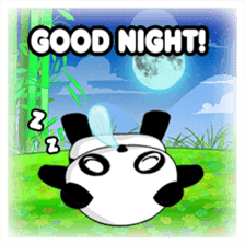 Panko Cute Little Panda sticker #147534