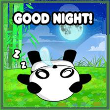 Panko Cute Little Panda sticker #147534
